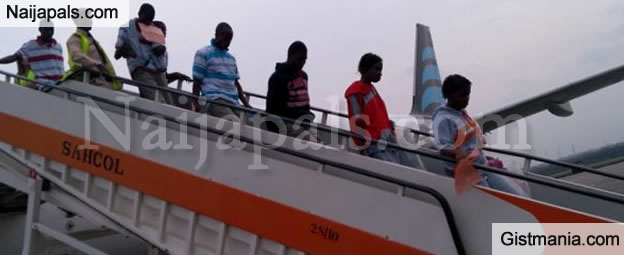 Another 138 Nigerians Deported From Libya(PHOTOS)