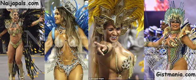 WHAT ZIKA! Sexy Brazilian Ladies Show What They Got @ The Ongoing 2016 Carnival In Brazil (PHOTOS)