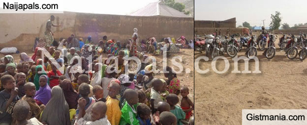 Military Destroy 7 Terrorist Camps&#059; Rescues 25 Women And Children In Sambisa Forest [Photos]