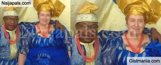 Greener Pastures: 29 Year-Old Nigerian Man Marries 69 Year Old European Grandma - Photos
