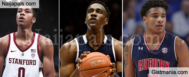 Meet The 3 NBA Players Of Nigerian Descent Who Made The 2019 NBA Draft In US