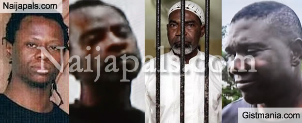 Martin, Silvester, Jamiu & Okwudili, Meet The Four Nigerian Drug Dealers To Be Executed In Malaysia