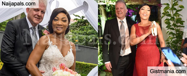 Photos & Videos From The Classy Wedding Of 50yrs Old Nigerian Woman Marrying For The First Time