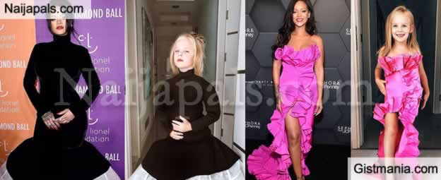 5-Year-Old Girl, Stefani Chagla Set Internet Buzzing After Recreating Rihanna's Fashion Moments