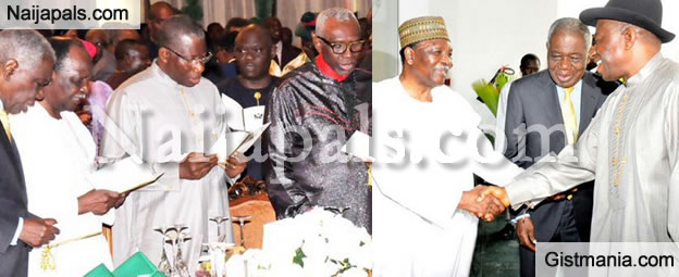 Photos From The 5th Presidential Breakfast Prayer In Aso Villa