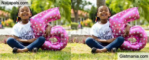 5 Years Old Girl, Alexis Benjamin Breaks The Internet With Her Lovely Photos As She Joins Instagram