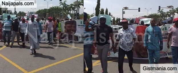 APC South East Youth Caucus Storm INEC Office In Abuja, Issue 5-day Ultimatum On Okorocha's Certificate Of Return