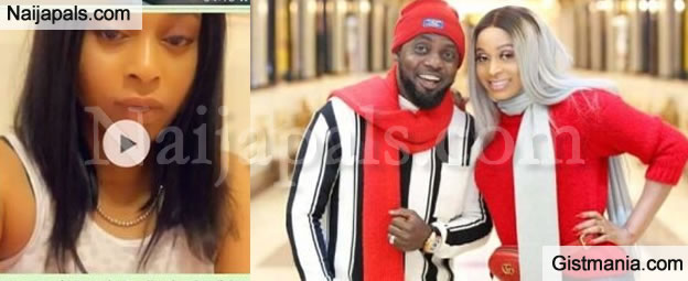 AY Makun And His Wife, Mabel Call Out Fan Who Says She Looks Unhappy While Wishing Her Husband Happy Birthday