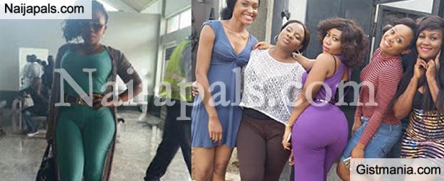 Follow Me See The Huge Bum On Actress Moyo Lawal [Photos]