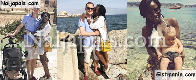 Adanna Ohahim And Hubby Loved Up In New Photos As They Enjoy Vacation In Spain