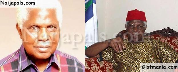 BREAKING! Former Vice President Of Nigeria, Dr Alex Ifeanyichukwu Ekwueme Is Dead
