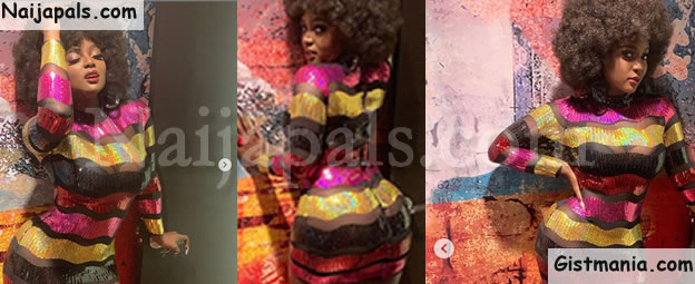 Reality Star, Amara La Negra Exposes Her Backside In See-Through Dress (Photos)