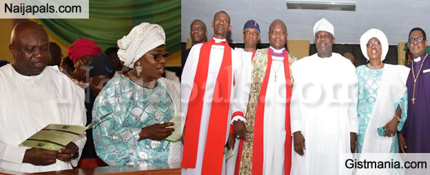 Photos From Gov. Ambode's One Year In Office Thanksgiving Service (Photos)