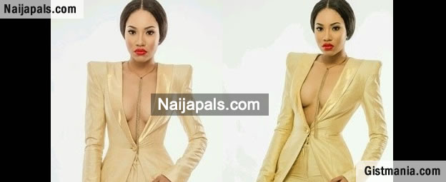 MBGN 2013 Winner, Anna Ebiere Flaunts Big Cleavage In New Photos