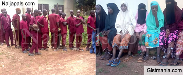 147 Victims Rescued From Another Illegal Islamic Rehabilitation Center In Kaduna State (PHOTOS)