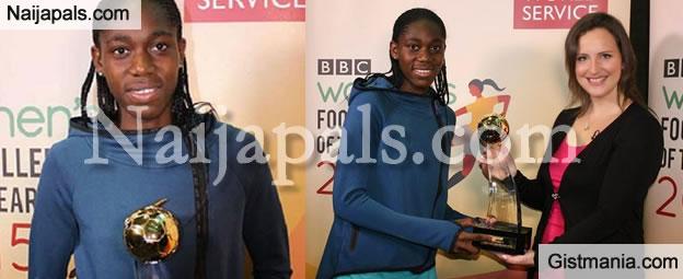 Asisat Oshoala Strikes AGAIN!, Footballer Named BBC Women's Footballer Of The Year IN The World
