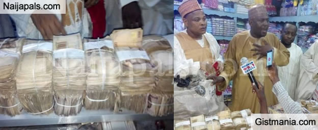 Ex Sokoto State Governor, Attahiru Bafarawa Doles Out N30M In Cash To Hausa Traders