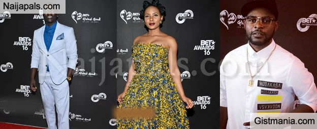 "Akon, Yemi Alade & More African Stars Stuns At BET ""Sounds Of Africa"" Opening & BET Awards Nominees Reception"