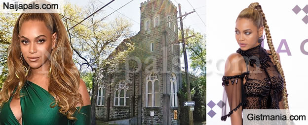 HUH? American Singer Beyoncé Buys Her Own 'CHURCH' In New Orleans For $850,000