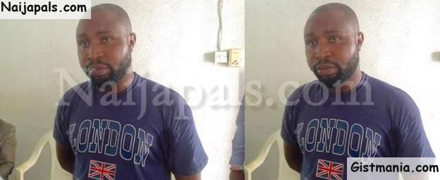 PHOTO: Lagos Police Arrest Popular Blogger Over Attempts To Defraud Femi Otedola