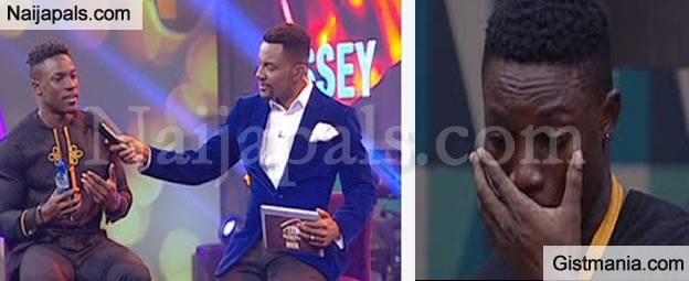 #BBNaija2017: Bassey Gets Evicted From The House