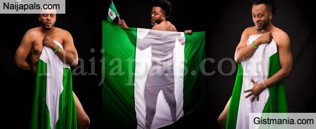 PHOTOS: Nollywood Actor Benson Okonkwo Displays Nood Photos To Celebrate Independence Day