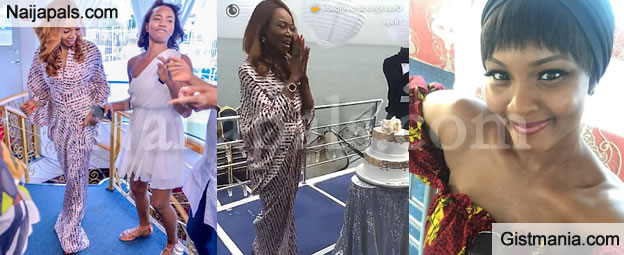 Betty Irabor Celebrates Her 60th Birthday On A Boat Cruise With Osas Ajibade & Many Others (Pics)