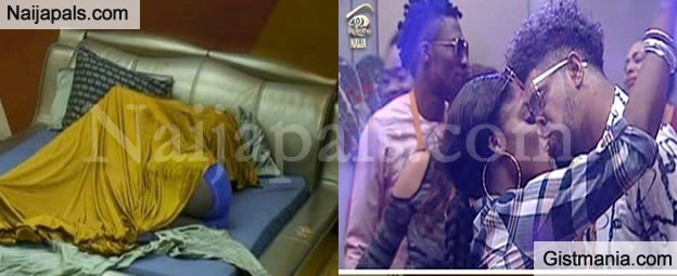 #BBNaija: Bisola and Thin Tall Tony Made Love Under The Sheets Last Night - Video