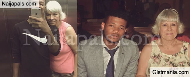 Nigerian Young Man Celebrates 6th Wedding Anniversary With White Old Woman (Photo)