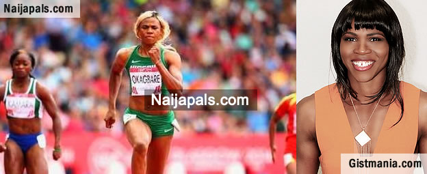 Hot Nigerian Sprinter, Blessing Okagbare Shows Off Her Swag [Photos]