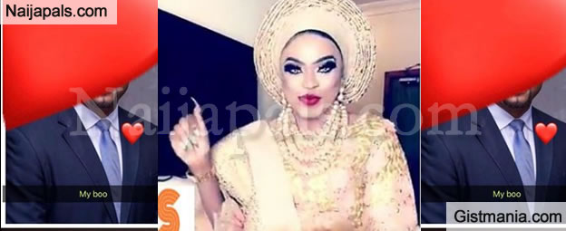 """He Is My Lord, My Sugar"" - Bobrisky Gushes About Bae As He Shares Photo From His INTRODUCTION CEREMONY"
