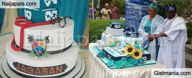 Photos From Bola Tinubu's 65th Birthday Celebration At His Ikoyi Residence (Photos)
