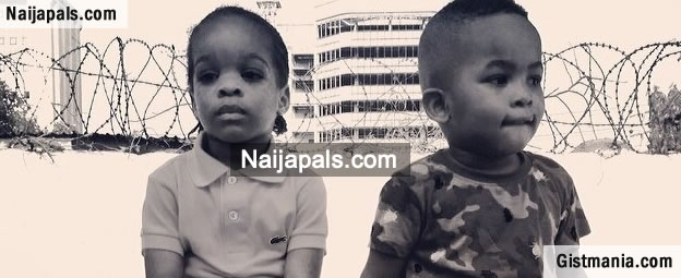 Wizkid's Son, Boluwatife, Hanging Out With Ice Prince Zamani's Son