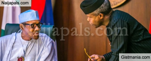 Buhari Fires His VP Again, Dissolves Loot Recovery Panel Set up By Osinbajo