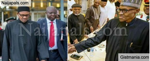 Buhari Has Difficulty Drinking And Eating, But Cabal Won't Let Him Travel - Insiders Reveals