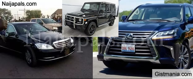 Top 7 Exotic And Expensive Cars Commonly Used By Nigerian Politicians (Photos)