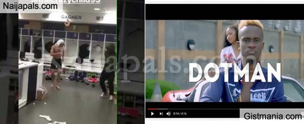 Watch PSG Football Stars, Edinson Cavani & Serge Aurier Groove To Dotmans' Akube (Video)