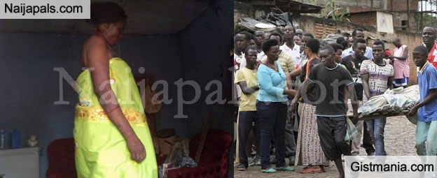 See The Graphic Photo Of The Childless Trader Who Committed Suicide In Anambra - Photo
