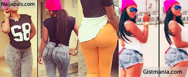 [Photo] Bootylicious Actress, Daniella Okeke Loses All Her ASS, She Looks Like An Ironing Board Now