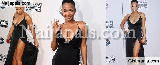 Christiana Milan's Super Sexy Outfit To The American Music Awards Is Something Else - Pix