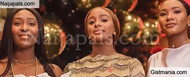 Photo: Lovely Photo Of Florence Ifeoluwa Otedola a.k.a DJ Cuppy And Her Sisters