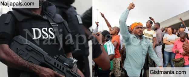 Video: DSS Release Teargas At Journalist Covering 'FreeSoworeNow' Protest, & Others