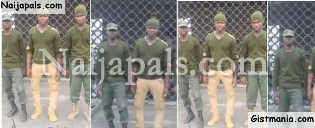DSS Arrests 10 Kidnap Suspects, 4 In Military Uniform In Kogi State (Photos)