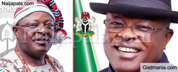 EFCC Arrests Ebonyi Governor, Umahi's Brother & Two Others Over N400million Campaign Fund