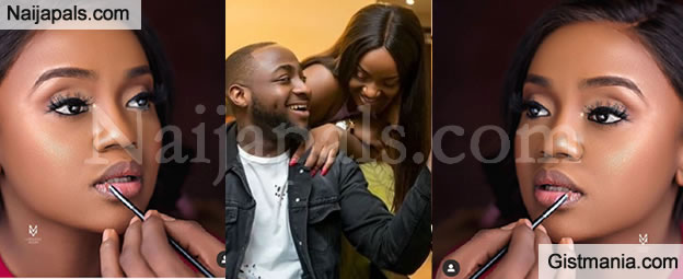 "''Your Body Dey Blow My Mind"" - Davido Gushes Over His Lover, Chioma In New Photo"