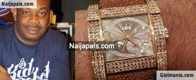 Who's the boss? Move Over Freeze, Don Jazzy Wore That N20m Watch Years Ago [PIX]