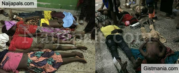 UPDATE: See Graphic Photos Of 10 Victims Killed By Civil Defence Officer During Boy's Brigade Standoff