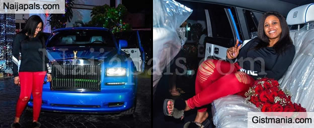 Billionaire E-money Buys A Rolls Royce Phantom For His Wife As Christmas Gift (PHOTOS)
