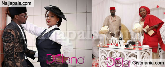 LOVELY: Actress Empress Njamah's Brother, John Weds Cameroon Girlfriend (Photos)