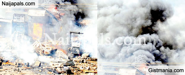 Breaking!!! Bomb Goes of in Kano Poly a Female Suicide bomber
